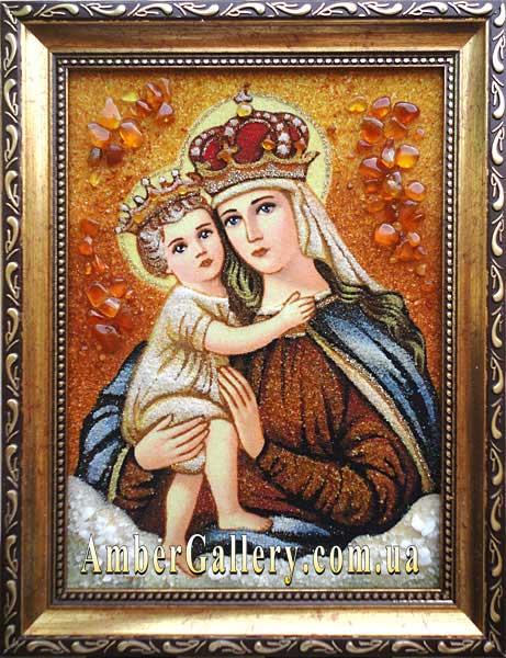Венчальная икона Божией Матери