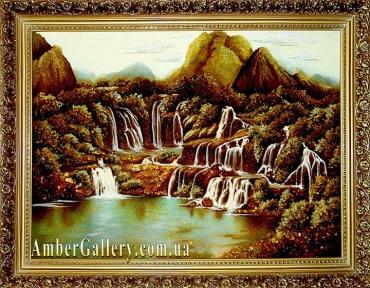 Водопад в горах (18)