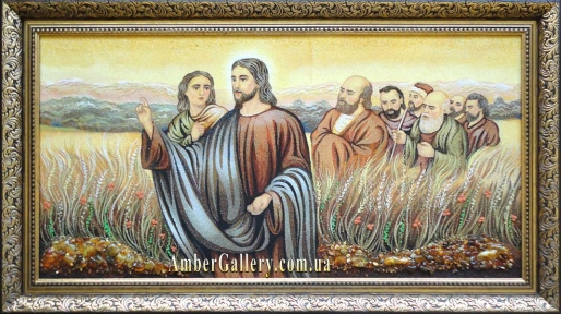 Иисус со своими учениками №03