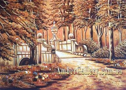 Старинный мост в лесу (289)
