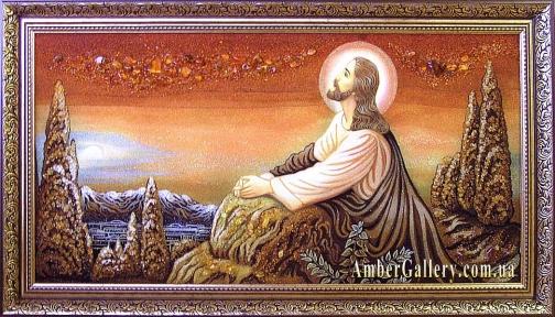 Иисус на Оливковой горе №09