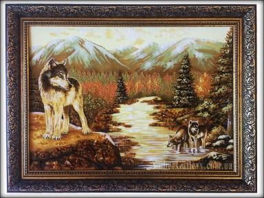 Волки у реки №61