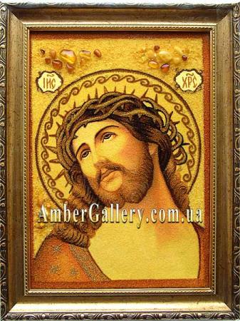 Иисус Христос в терновом венке  №01