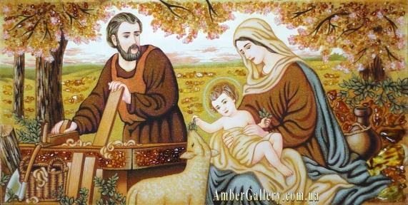 Св.Семья (Св.Родина) (Холст) (10-2)