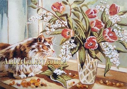 Тюльпаны. Натюрморт (99)