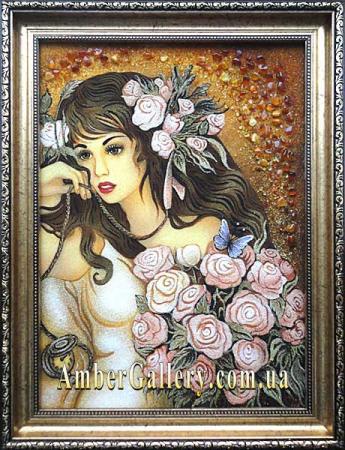Девушка с розами (26)