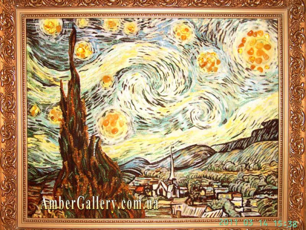 Звездная ночь Ван Гог (6)