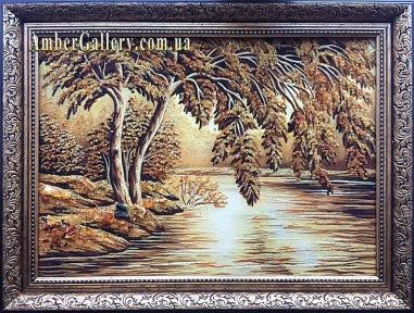 Ива на берегу реки (290)