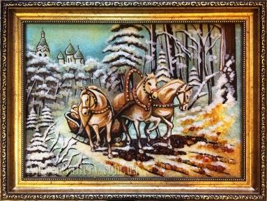 Тройка лошадей №2